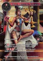 SNV-027 - R - Full Art - Ma'at, Arbiter of Judgement -