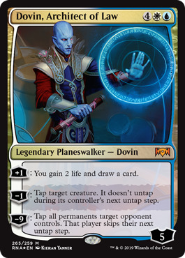 Dovin, Architect of Law - Foil Planeswalker Deck Exclusive