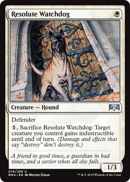Resolute Watchdog - Foil