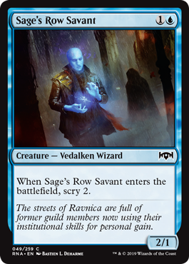 Sages Row Savant