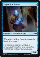 Sage's Row Savant - Foil