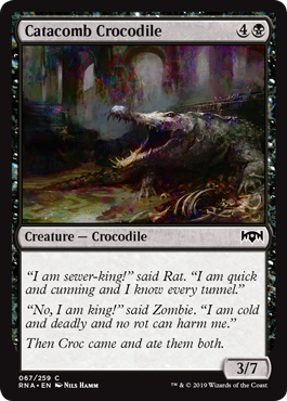 Catacomb Crocodile - Foil
