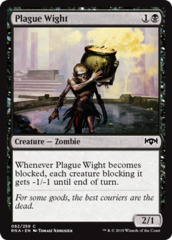 Plague Wight - Foil