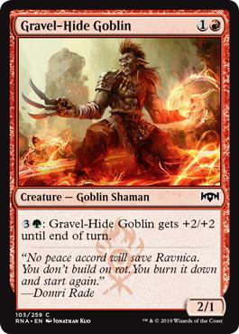 Gravel-Hide Goblin - Foil