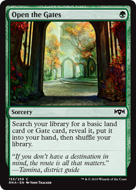 Open the Gates - Foil