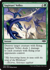Sagittars' Volley - Foil