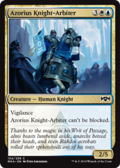 Azorius Knight-Arbiter - Foil on Channel Fireball