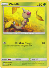 Weedle - 3/181 - Common