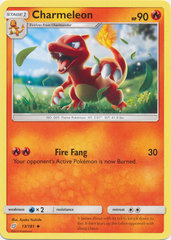 Charmeleon - 13/181 - Uncommon on Channel Fireball