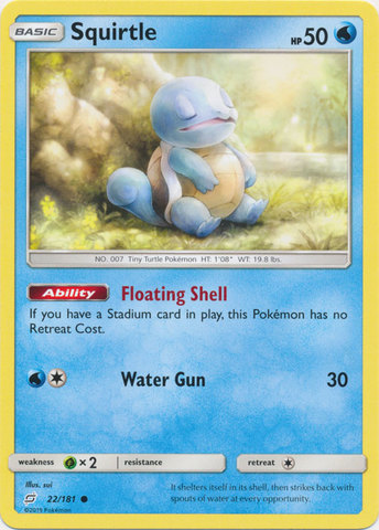 Squirtle - 22/181 - Common