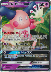 Mr. Mime GX - 67/181 - Ultra Rare
