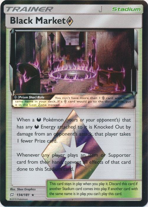 Black Market Prism Star - 134/181 - Holo Rare