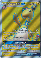 Ampharos GX - 163/181 - Full Art Ultra Rare