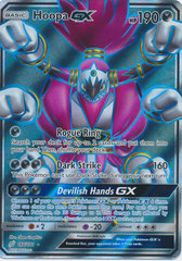 Hoopa GX - 166/181 - Full Art Ultra Rare on Channel Fireball