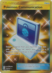 Pokemon Communication - 196/181 - Secret Rare