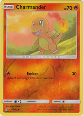 Charmander - 12/181 - Common - Reverse Holo on Channel Fireball