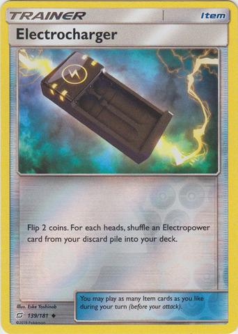 Electrocharger - 139/181 - Uncommon - Reverse Holo