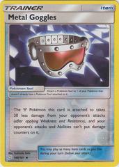 Metal Goggles - 148/181 - Uncommon - Reverse Holo