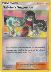 Sabrina's Suggestion - 154/181 - Uncommon - Reverse Holo