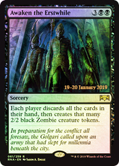 Awaken the Erstwhile (RNA Prerelease Foil)