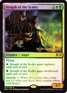 Seraph of the Scales - Foil Prerelease Promo