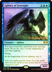Sphinx of Foresight - Foil Prerelease Promo