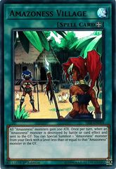 Amazoness Village - SS02-ENV03 - Ultra Rare - 1st Edition on Channel Fireball