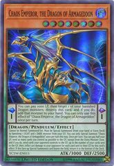 Chaos Emperor, the Dragon of Armageddon - YCSW-EN011 - Super Rare Limited Edition Promo