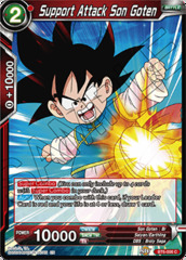 Support Attack Son Goten - BT6-006 - C - Foil