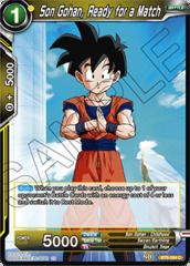 Son Gohan, Ready for a Match - BT6-084 - C - Foil