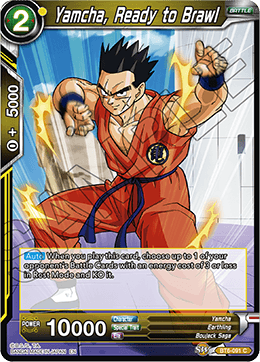 Yamcha, Ready to Brawl - BT6-091 - C - Foil