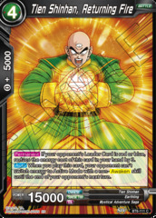 Tien Shinhan, Returning Fire - BT6-111 - C - Foil