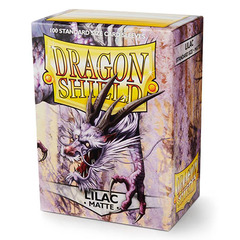 Dragon Shield - Matte Lilac 100 Count Standard Sleeves