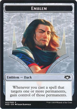 Emblem (002/005) - Dack Fayden Mythic Edition