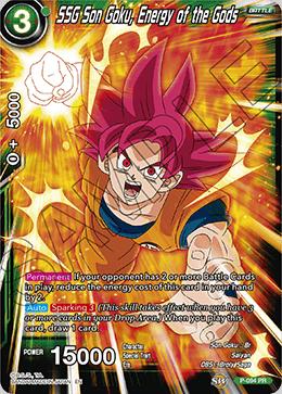 SSG Son Goku, Energy of the Gods - P-094 - PR