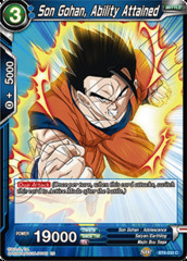 Son Gohan, Ability Attained - BT6-032 - C