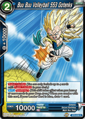 Buu Buu Volleyball SS3 Gotenks - BT6-039 - C - Foil