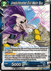 Unadulterated Evil Majin Buu - BT6-044 - C