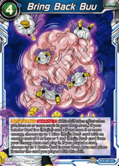 Bring Back Buu - BT6-050 - UC - Foil on Channel Fireball