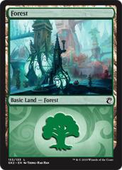 Forest (133) (Guild Kits: Ravnica Allegiance)