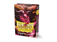 Dragon Shield Sleeves: Japanese Matte Magenta (Box Of 60)