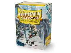 Dragon Shield Sleeves: Classic Silver  - Standard - (Box of 100)