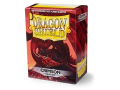 Dragon Shield Sleeves: Classic Crimson  - Standard - (Box of 100)