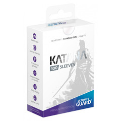 Ultimate Guard - Katana Sleeves - Standard Size - Transparent (100ct)