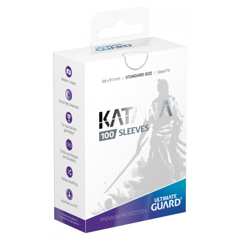 Ultimate Guard - Katana Sleeves - Standard Size - White