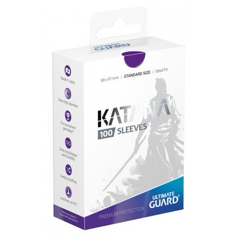 Ultimate Guard - Katana Sleeves - Standard Size - Purple (100ct)