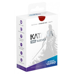Ultimate Guard - Katana Sleeves - Standard Size - Red