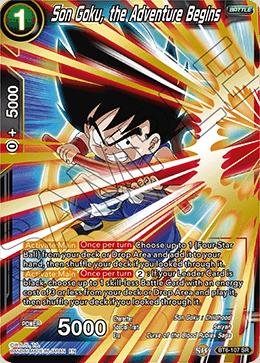 Son Goku, the Adventure Begins - BT6-107 - SR