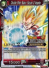 Double Shot Super Saiyan 2 Vegeta (Level 2 Judge Promo) - BT2-010 - PR
