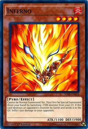 Inferno - SDSB-EN018 - Common - 1st Edition